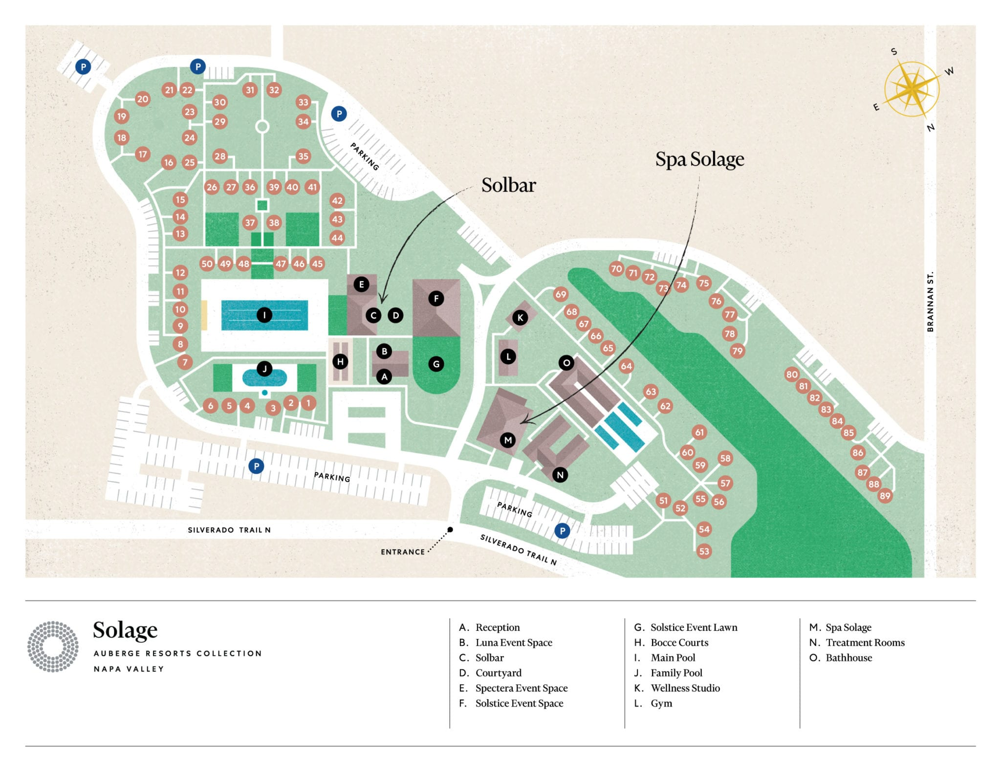 Solage, an Auberge Resort & Spa in Calistoga, CA